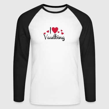 6061912 127021016 vaulting - Men's Long Sleeve Baseball T-Shirt