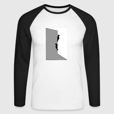 behind the wall - Men's Long Sleeve Baseball T-Shirt
