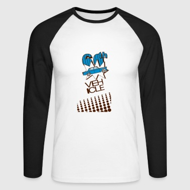 60th vehicle - Men's Long Sleeve Baseball T-Shirt