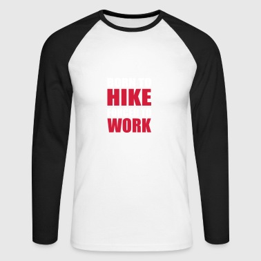 Hiking - Men's Long Sleeve Baseball T-Shirt