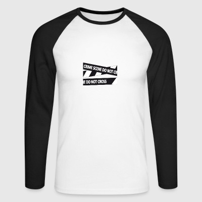 Crimescene - Men's Long Sleeve Baseball T-Shirt