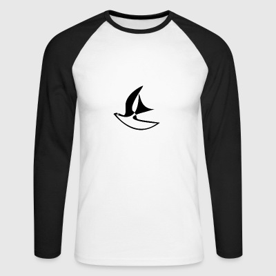 Freedom / Peace Dove - Men's Long Sleeve Baseball T-Shirt