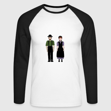 Couple amish - T-shirt baseball manches longues Homme
