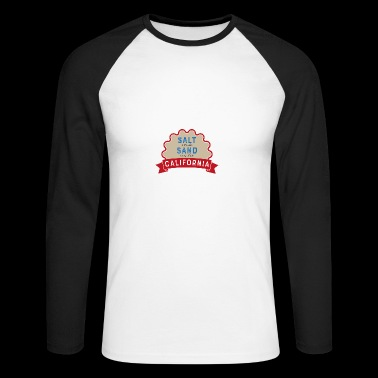 California - Men's Long Sleeve Baseball T-Shirt