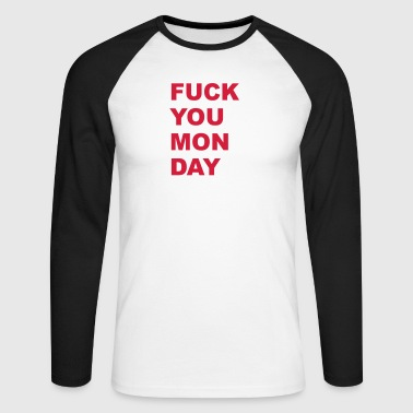 Monday - Men's Long Sleeve Baseball T-Shirt