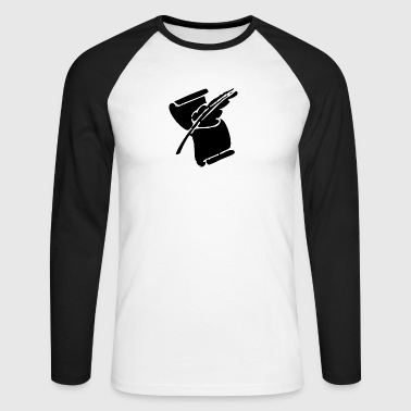 Scorer - Men's Long Sleeve Baseball T-Shirt