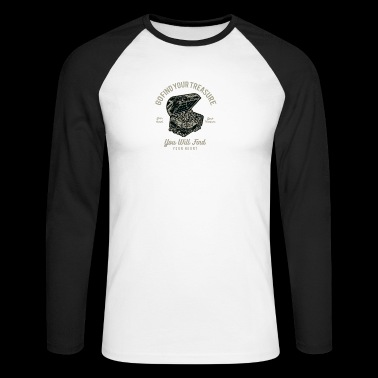 Treasure - Men's Long Sleeve Baseball T-Shirt