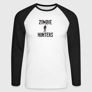 Zombie: Zombie Hunters - T-shirt baseball manches longues Homme