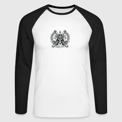 Crown - Men's Long Sleeve Baseball T-Shirt