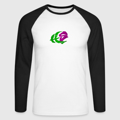 HyperLogog - Men's Long Sleeve Baseball T-Shirt