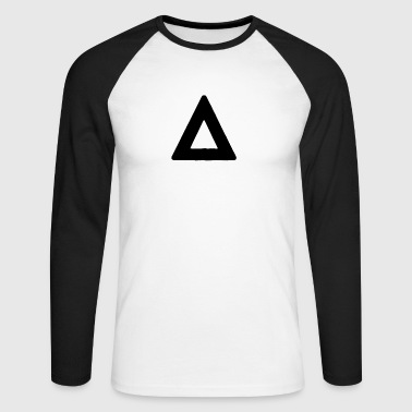Triangle - Men's Long Sleeve Baseball T-Shirt