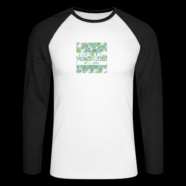 Vegan Lifestyle - Veggie Power Shirt - Men's Long Sleeve Baseball T-Shirt