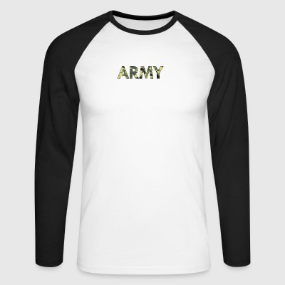 Army - Men's Long Sleeve Baseball T-Shirt