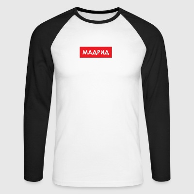 Madrid - Utoka - Men's Long Sleeve Baseball T-Shirt