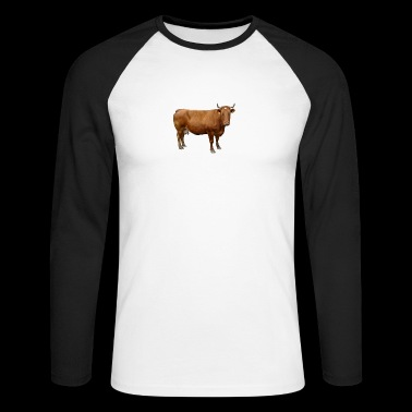 vache - T-shirt baseball manches longues Homme