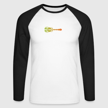 Gift for guitarists - Men's Long Sleeve Baseball T-Shirt
