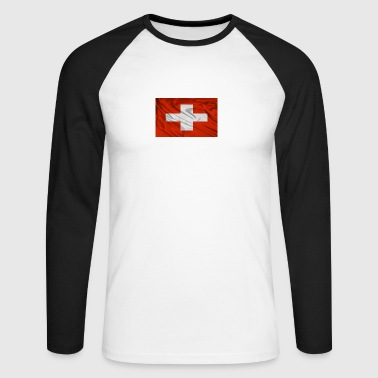 Suisse - T-shirt baseball manches longues Homme