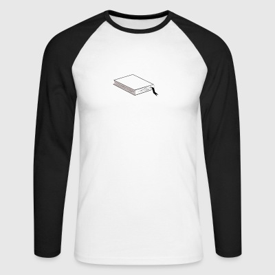 book - Men's Long Sleeve Baseball T-Shirt
