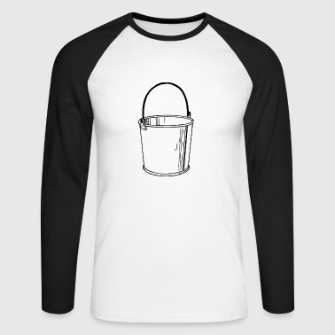 bucket - Men's Long Sleeve Baseball T-Shirt