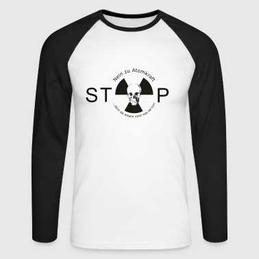 no  nuclear energy - Men's Long Sleeve Baseball T-Shirt