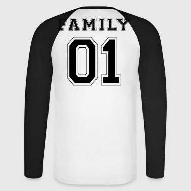 FAMILLE 01 - Black Edition - T-shirt baseball manches longues Homme