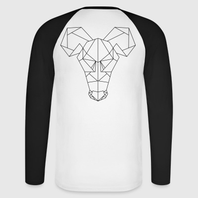 Rat's Head - Men's Long Sleeve Baseball T-Shirt