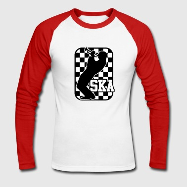 Ska trumpeter - Men's Long Sleeve Baseball T-Shirt