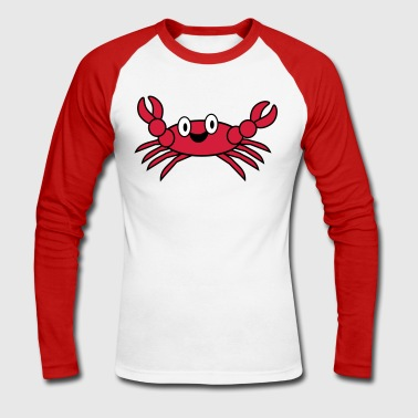 crab - T-shirt baseball manches longues Homme