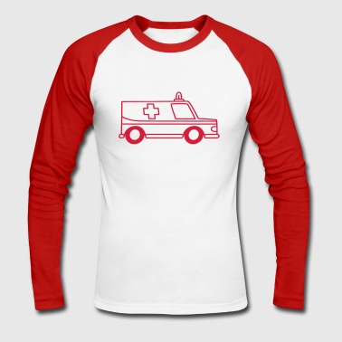 ambulance - Men's Long Sleeve Baseball T-Shirt