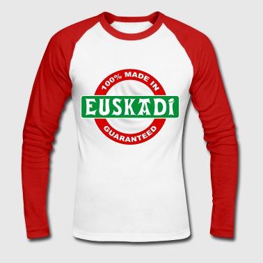 made in euskadi - Men's Long Sleeve Baseball T-Shirt