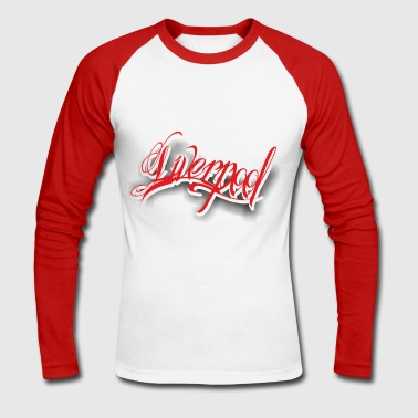 Liverpool Liverpool - Men's Long Sleeve Baseball T-Shirt