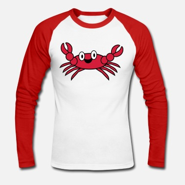 Crabe crab - T-shirt baseball manches longues Homme