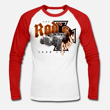 Bikes And Cars Collection rod´s fresh - Männer Baseballshirt langarm