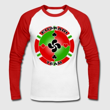 euskadi poker - Men's Long Sleeve Baseball T-Shirt