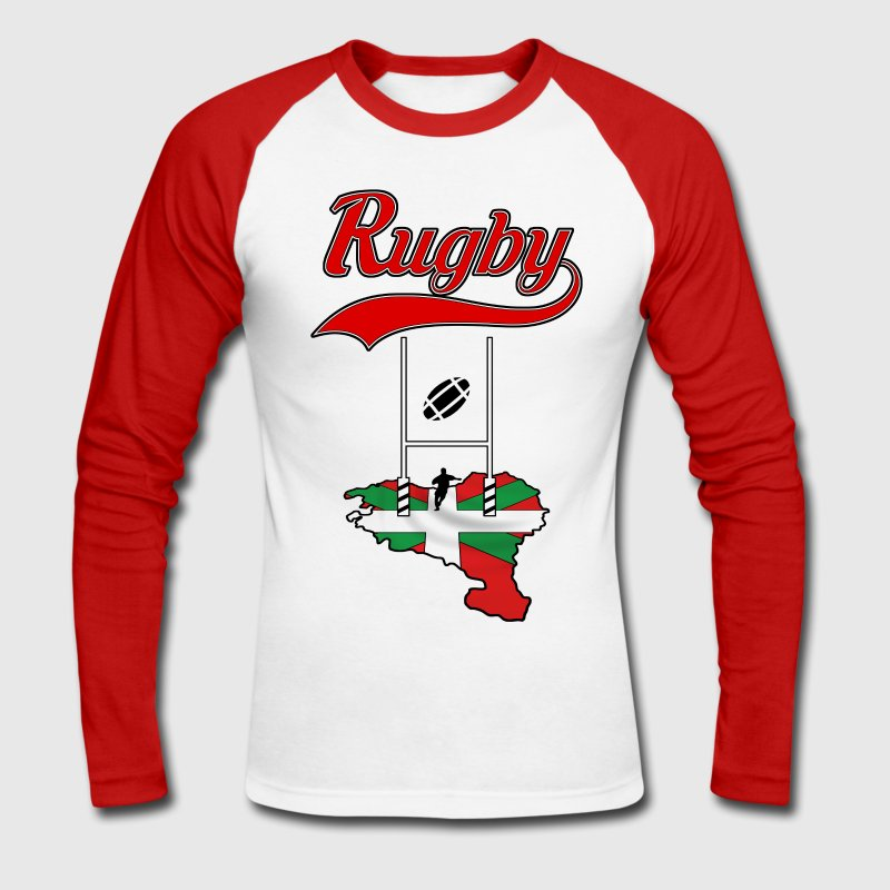 rugby basque - T-shirt baseball manches longues Homme
