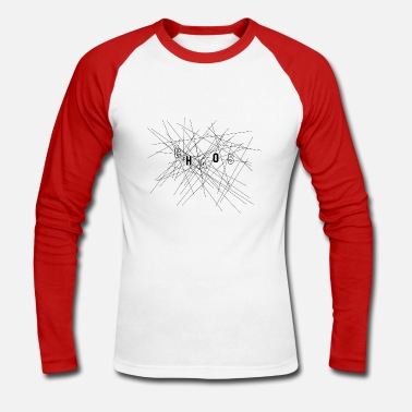 Chaos chaos - T-shirt baseball manches longues Homme