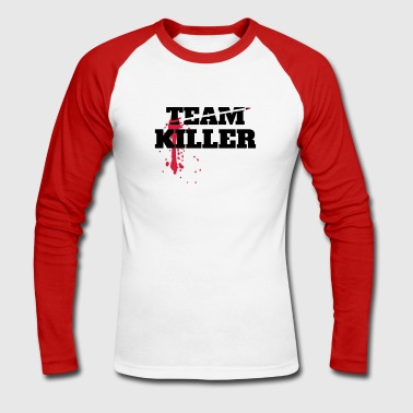 Teamkiller - Men's Long Sleeve Baseball T-Shirt