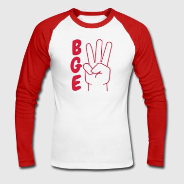 BGE - For a sustainable future - Men's Long Sleeve Baseball T-Shirt