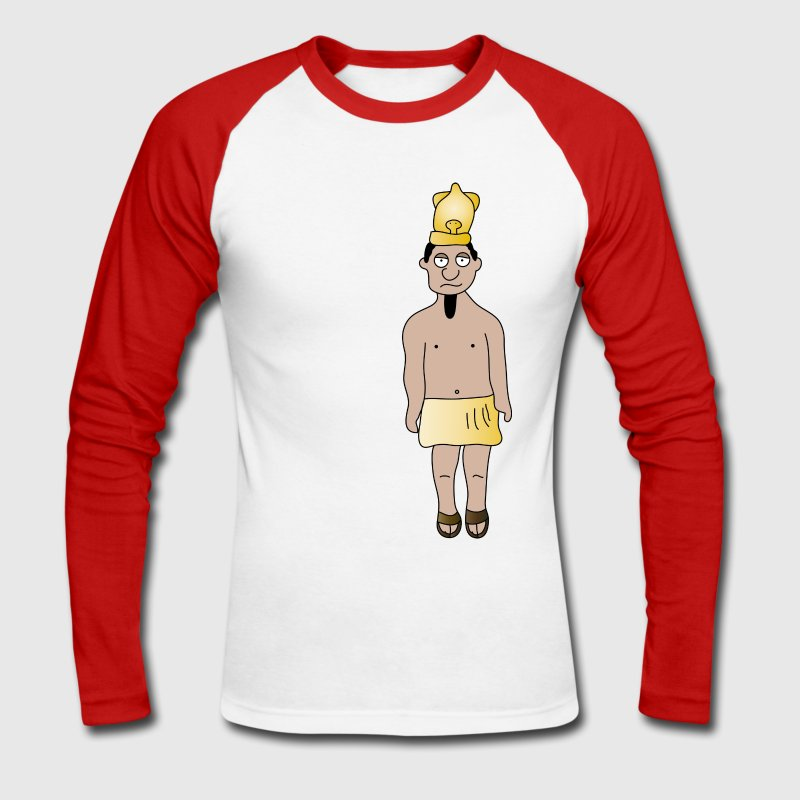 Pharaoh - Men's Long Sleeve Baseball T-Shirt