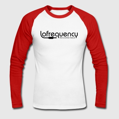 LOFREQUENCY RECORDINGS CLASSIC BLACK - Men's Long Sleeve Baseball T-Shirt