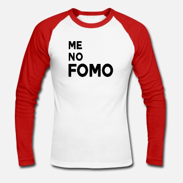 FOMO - T-shirt manches longues baseball Homme