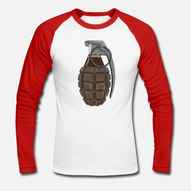 Grenade - T-shirt manches longues baseball Homme