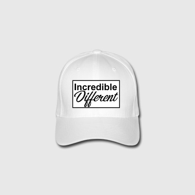 icredibledifferent_logo - Casquette Flexfit