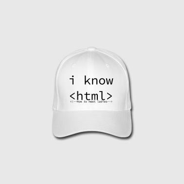 in the know - Flexfit Baseball Cap