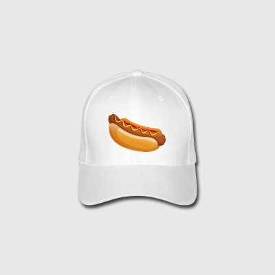 hot dog - Flexfit Baseball Cap