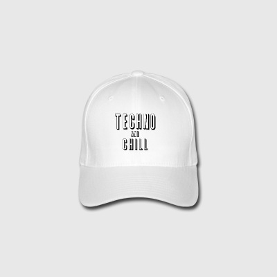 Techno og chill - Flexfit baseballcap