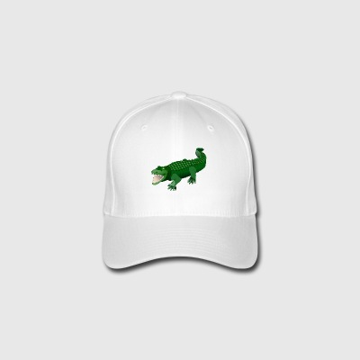 evil crocodile - Flexfit Baseball Cap