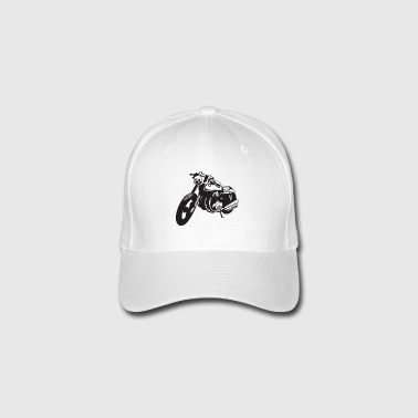 Biker motorcycle - Flexfit Baseball Cap