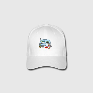Camping RVing Welcome Home - Flexfit baseballcap