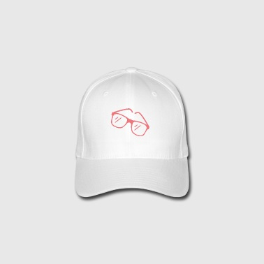 Red sunglasses - Flexfit Baseball Cap